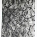 afbeelding Chaos, monoprint