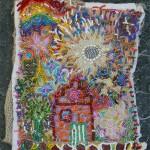 Paradijs, 22 x 33, kraaltjes op een laken