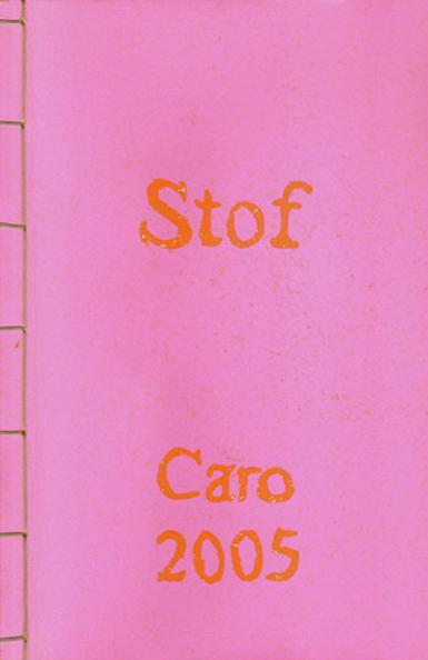 boek Stof auteur Caroline Waltman