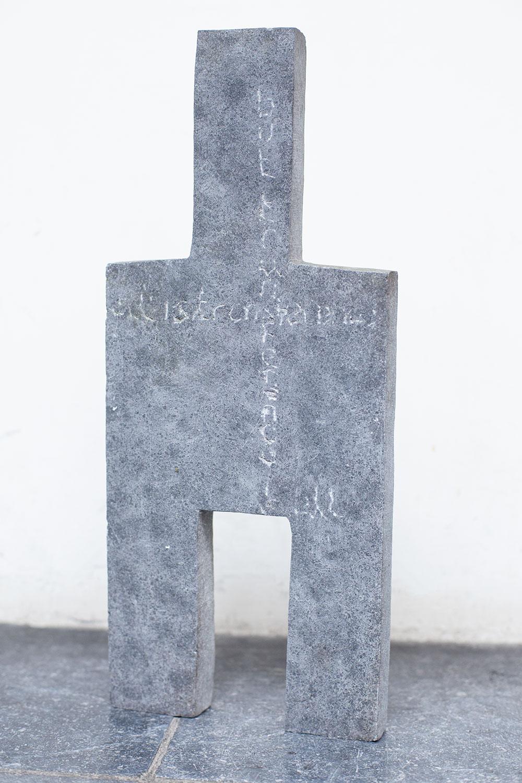 All is transference 1, Belgisch hardsteen, 20 x 4 x 35, 1998