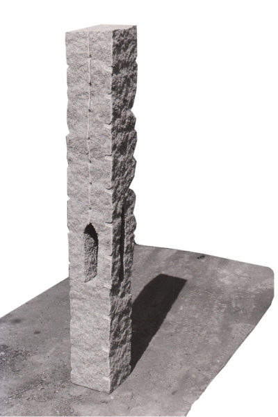 Duizend geluiden, graniet, 120 x 140 x 50, 2005