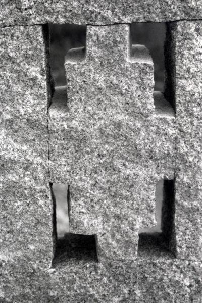 detail Venster, 30 x 5 x 120, graniet, 2007